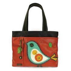 Chala Handbag Bowling Zip Tote MERMAID Large Bag Indigo Blue Pleather Coin Purse
