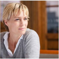 robin wright short hair - Google Search                                                                                                                                                                                 More