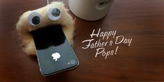 DIY Father's Day Gift: Monsterize his Smart Phone Charger | Alphamom