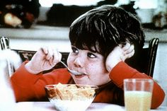 """Life cereal commercial starring """"Mikey""""  Haha..Mikey'll eat it...mikey'll eat ANYTHING!!"""