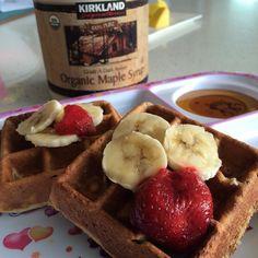 verdeyrebelde Bueeeenos días! ️ Me pidieron waffles (gofres) esta mañana asi que me destaque!  Para dos porciones licuas: Read more at http://websta.me/liked#ZccF0g9fO2YlsyBw.99