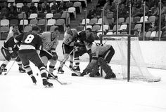 MN North Stars 1st Game Oct 15, 1967 The Minnesota North Stars debut as a National Hockey League expansion team. The home of the North Stars, Metropolitan Sports Center in Bloomington, was built in 12 months (October 3, 1966, groundbreaking to October 25, 1967, first home game).    During the next 26 seasons, the team wins 758 games and loses 970. Owner Norm Green moves the team to Texas in 1993, and 7 empty winters pass before the Wild bring professional hockey back to the North Star State.