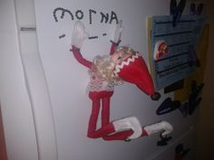 Morna Jingles. Elf on a shelf