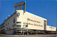 Webb's City World's most unusual drug store St. Petersburg Florida