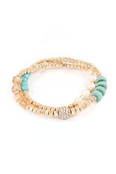 Pretty beaded bracelet.