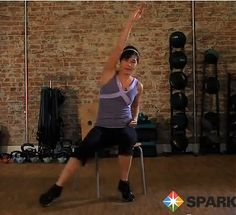 Seated Cardio Workout: Burn Calories Exercising in a Chair - Living Green Magazine    this is fun.  check it out.   Mary Mays