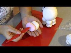Vaquita Adorable Cow cold porcelain / polymer clay tutorial Part 2