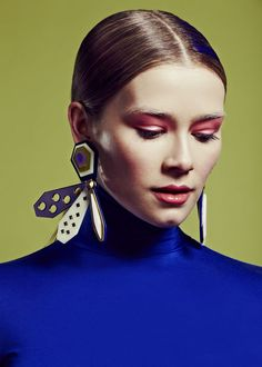 Jewellery Design: Alexandra Druzhinin /  Photographer: James Rees / Creative Directive Direction Rob Phillips  / Beauty: Pace Chen   Image ©Alexandra Druzhinin ,James Rees