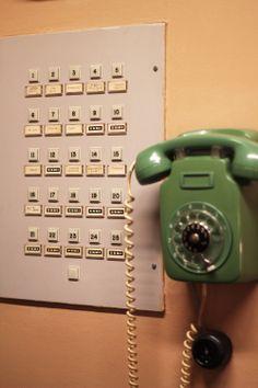 Urho ja Sylvi Kekkonen, Tamminiemi, Helsinki. Sisustus vuodelta 1974. Minnen, Helsinki, Retro, Landline Phone, Finland, Nostalgia, Childhood, Times, Design