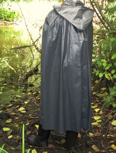 Kleppercape Klepper Poncho Cape Mantel Gummi Rubber PVC Raincoat Friesennerz in Sport, Angelsport, Bekleidung | eBay