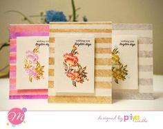 So happy to announce that I am Creative Team member of Mudra stamps! Stamps that are made in India! I used Floral silhouettes and play with lines stamp set. Scribbled zig markets and spritz water on the stamps. @mudracraftstamps #mudracraftstamps #carkmaking #zigcleancolorrealbrush #handmade #handmadecards #stamping