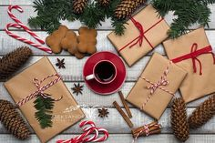 Stock Photography - Ideas That Produce Nice Photos Irrespective Of Your Abilities! Christmas Flatlay, Shops, Banner Images, Flat Lay Photography, How To Make Logo, Bottle Mockup, Christmas Background, Stock Photos, Technology