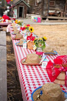 Girly Rodeo 2nd Birthday Party Photographer – Jenny Loya of Jenner Rose Photoghraphy