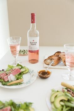 easter brunch recipe with food and wine pairing