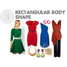 outfits rectangle body shape   fashion look from January 2013 featuring ASOS dresses, Lipsy dresses ...