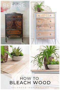 Furniture Repair, Paint Furniture, Furniture Projects, Furniture Makeover, Restore Wood Furniture, Raw Wood Furniture, Resource Furniture, Dresser Makeovers, Furniture Refinishing
