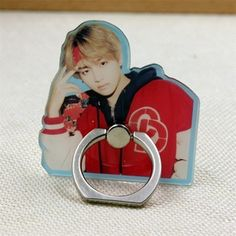 Radient Super Kawaii Bt21 Bell Phone Accessories K Pop Korean Star Bts Bangtan Boys Fashion Key Ring Hanging Ornament Rj Shooky Mang Van Women's Clothing