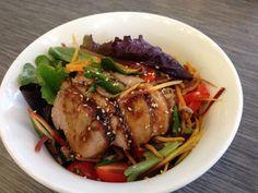 Sesame ginger pork salad