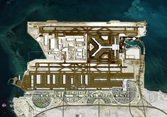 Rem Koolhaas' OMA has been selected to masterplan the new Airport City linking Doha, Qatar, with Hamad International Airport. Hamad International Airport, 2022 Fifa World Cup, Plan Maestro, Rem Koolhaas, Architecture Magazines, Architecture Visualization, Masterplan, Doha, Dibujo