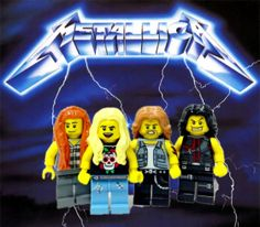 Metallica x Lego 33 Of Your Favorite Bands Recreated With LEGOS | TIME.com