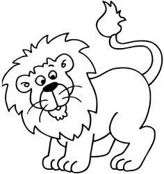 leeuw kleurplaat - Google zoeken