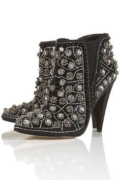 AVANT All Over Embellished Boots