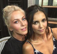 Julianne Hough and Nina Dobrev