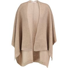 Duffy Waffle-knit wool and cashmere-blend cardigan (€130) ❤ liked on Polyvore featuring tops, cardigans, beige, waffle knit cardigan, beige cardigan, woolen tops, open front cardigan and loose tops