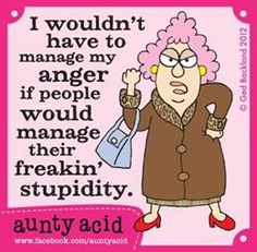 Things To Learn From Aunty Acid
