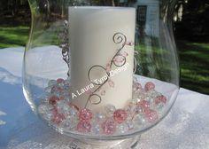 The center pieces I made for Stacie's wedding