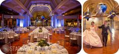 Love how the captains table is surrounded by guest tables - Stackwood Studios