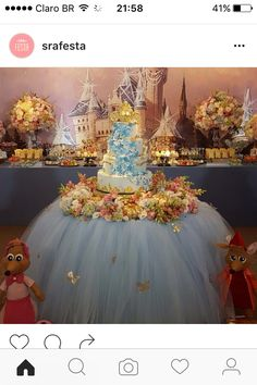 Essential Criteria In Awesome Quinceanera Party Decorations Clarified - Lelo Lelo Cinderella Sweet 16, Cinderella Theme, Cinderella Birthday, Cinderella Wedding, Princess Birthday, Birthday Crowns, Birthday Cake, Cinderella Quinceanera Themes, Quinceanera Cakes
