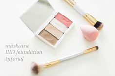 Maskcara IIID Foundation tutorial on The Small Things Blog