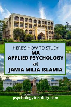 Jamia Millia Islamia is a central university in India that completed its hundred years of existence in 2020. The department of psychology in Jamia Millia Islamia was established as an independent department in 1986. Masters In Psychology, Applied Psychology, Psychology Department, Central University, 100 Questions, Question Paper, Entrance, Study, How To Apply