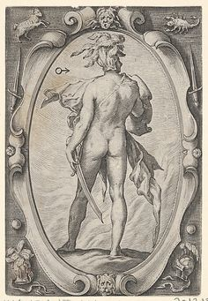 Mars (from The Planets) Hendrick Goltzius