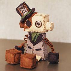 Ginny Penny - Steampunk Robot