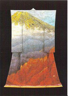 itchiku #1by Arno Drucker | Mount Fuji kimono by Itchiku Kubota | Flickr - Photo Sharing!
