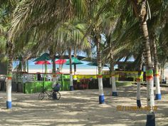 Personajes y Paisajes  Guajiros: Malecom Playa: Un pedacito del paraiso en Riohacha...