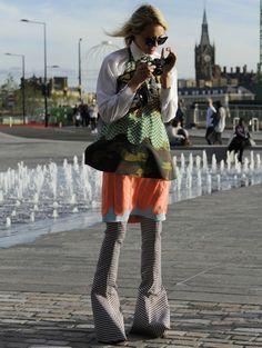 Streetstyle @ Londen Fashion Week | ELLE