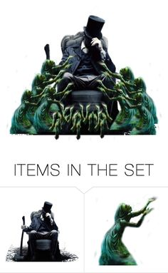 """""""Hoarder of souls"""" by fashion-film-fun ❤ liked on Polyvore featuring art"""