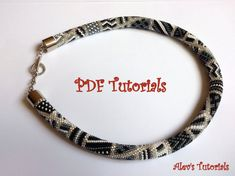 Blind Guardian  Crochet Bead Necklace Pattern  by AlevsTutorials, $7.00