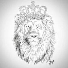 leão desenho florido - Pesquisa Google