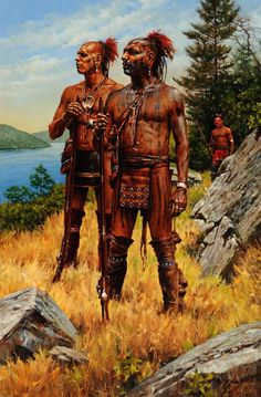 Land of the Iroquois by Robert Griffing from Coeur d'Alene Art Auction STATUE Native American Warrior, Native American Tribes, Native American History, American Indians, American Indian Art, Early American, Woodland Indians, Native American Paintings, Indian Tribes