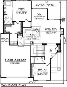 House Plans Home Plans And Floor Plans From Ultimate Plans Ranch House Plans Craftsman Style House Plans Bungalow Style House Plans
