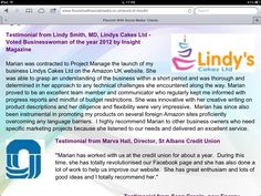 Testimonials from Lindy's Cakes and St Albans Credit Union St Albans, Flourish, Business Women, Insight, Product Launch, Social Media, Cakes, Website, Cake Makers