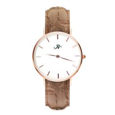 This unique piece was designed in Toronto, Canada and has a variety of combinations and customization options available, you can find the right Joseph Nogucci Design Co. timepiece for every day of the week.