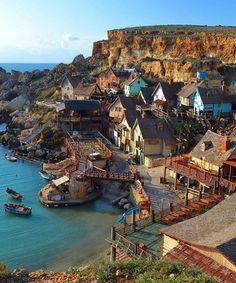 Popeye Village, Anchor Bay, Malta..many a year i have visited this beautiful place, will forever hold a special place in my heart