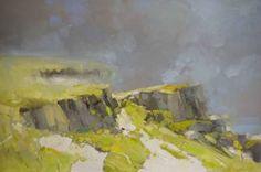 After Rain Landscape oil Painting Impressionism Large Handmade artwork One of a Kind