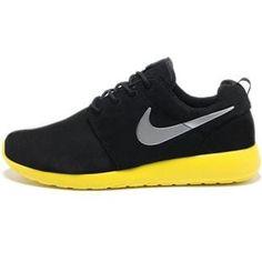 separation shoes 79768 4c2da www.asneakers4u.com  Bhzuc7 Cheap Nike Roshe Run Premium Men s Shoe Black