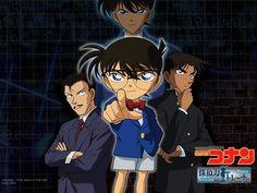 Kogoro & Conan & Heiji